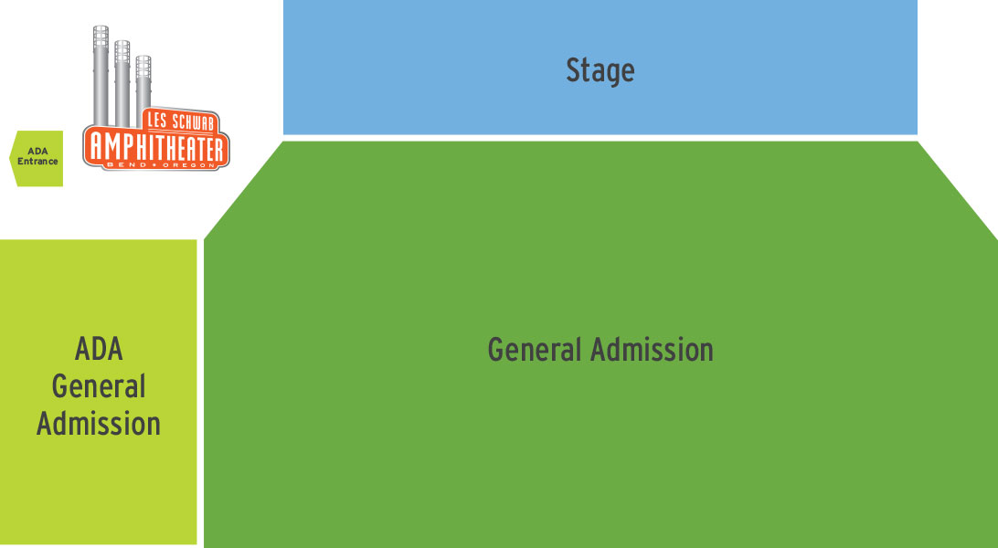 General Admission Seating at the LSA