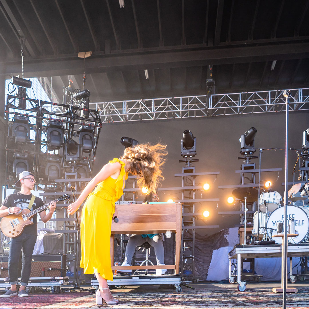 Lake Street Dive Performed Live in Concert in Bend Oregon